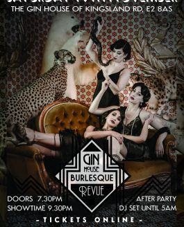 "The Gin-House Burlesque presents ""Winter Wonderland Revue"""